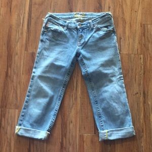 Miss Me cropped jeans size 28